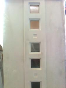 panel cu geamuri patrate